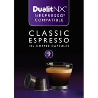 Dualit and Nespresso Compatible 15891 NX Classic Espresso Capsules 60 Pack