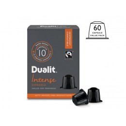 Dualit and Nespresso Compatible 15890 NX Intense Espresso Capsules 60 Pack