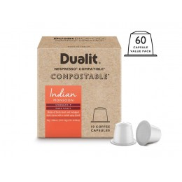 Dualit and Nespresso Campatible 15895 NX Indian Monsoon Capsules 60 Pack