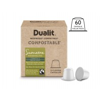 Dualit and Nespresso Compatible15896 NX Sumatra Mandheling Capsules 60 Pack