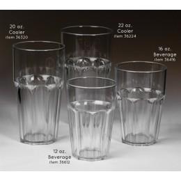 Encore 36809 Sausalito 9oz Rocks Glass Clear 36/CS