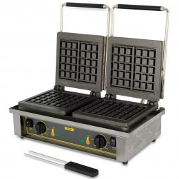 Equipex GED Double Electric Waffle Baker, 208/240V