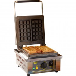 Equipex GES Single Electric Waffle Baker, 120V