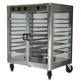 Equipex RE-2 Turbo Vision Rotisserie Warming Cabinet, 40 Bird Capacity