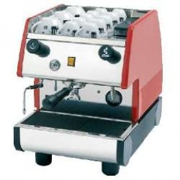 European Gift PUB1M-R La Pavoni 1 Group, Manual, Red Espresso Machine