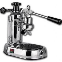 La Pavoni EPC-8 Europiccola 8 Cup Lever Espresso Machine Chrome Base