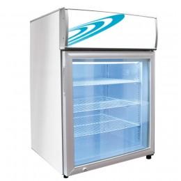 Excellence CTF-4HCMS Counter Top Freezer Merchandiser 4.1 cu ft