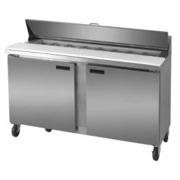 Excellence DSP-59-16 Stainless Steel Sandwich Prep Station Sixteen Pan