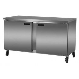 Excellence DUC-59 Stainless Steel Refrigerator - 16 Cubic Feet