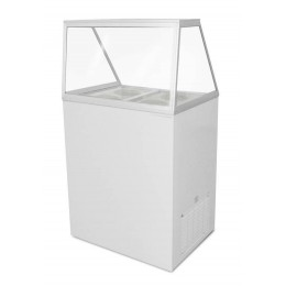 Excellence EDC-4HC Ice Cream Freezer Dipping Cabinet 4 Tub Capacity