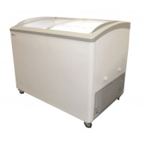 Excellence VB-4HC Curved Lid Display Freezer, 11.5 cu ft