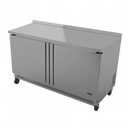 Fagor FWR-60 2 Door Worktop Refrigerator - 60 Inch