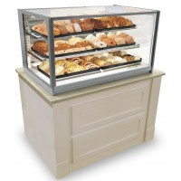 Federal ITD3634-B18 Italian Glass Non-Refrigerated Display Cases 37.5