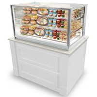 Federal ITRSS6026 Italian Glass Refrigerated Counter Display Case 60