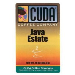 Cuda Coffee Java  Estate 1lb