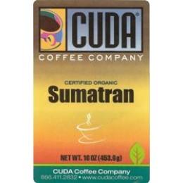 Cuda Coffee Certified Organic Sumatran 1lb