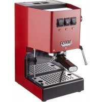 Gaggia RI9380/47 Classic Pro Espresso Machine, Cherry Red
