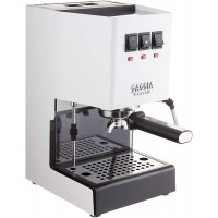 Gaggia RI9380/48 Classic Pro Espresso Machine, Polar White