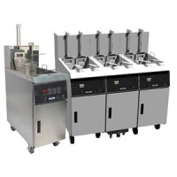 Giles GBF-35-C Fryer 35 lbs Shortening Capacity with Electronic Controller 240V/60Hz/3Ph