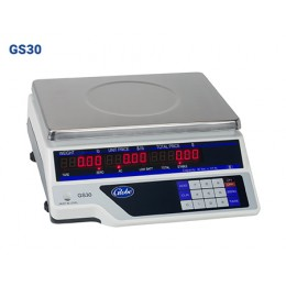Globe GS30 Price Computing Scale Legal for Trade with Dual LCD Display
