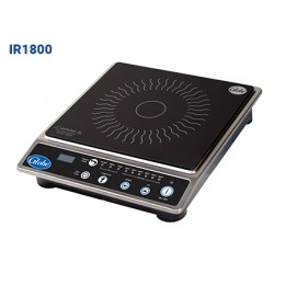 Globe IR1800 Countertop Electric Induction Cooktop 120v 5-15P 1800w 6 Power Levels