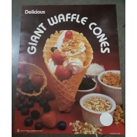 Gold Medal 1994 Waffle Cone Poster