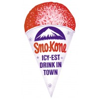Gold Medal 1999 Sno-Kone Cup Shaped Poster
