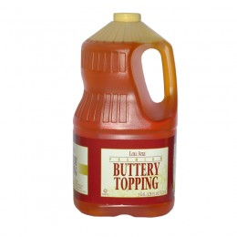 Gold Medal 2029 Lou Anna Buttery Topping 1 Gallon 4/CS