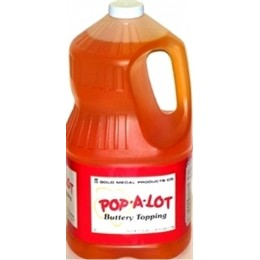 Gold Medal 2039 Pop-A-Lot Buttery Flavored Topping 4/1 Gallons