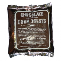Gold Medal 2090 Concentrated Chocolate Corn Treat Mix 12-22 oz Bags