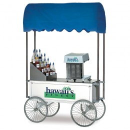 Gold Medal 2129HF Hawaiis Finest Shaved Ice Wagon Only
