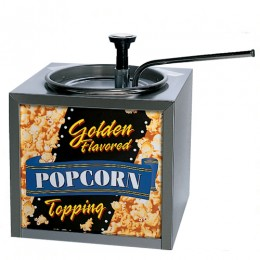Gold Medal 2195 Butter Topping Dispenser Warmer Lighted Sign