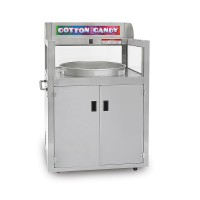 Gold Medal 2242-00-021 Elite Mobile Serving Station Front Counter Cotton Candy LED