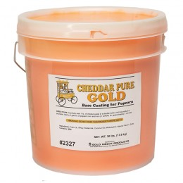 Gold Medal 2327 Cheddar Pure Gold 30lb Tub
