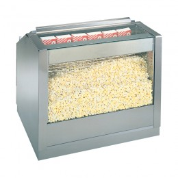 Gold Medal 2345 Counter Popcorn Staging Cabinet 1 Door LED Lighting 48