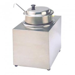 Gold Medal 38729 One Piece Lid for 4 Qt Bowl