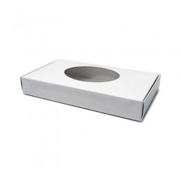 Gold Medal 2511 Fudge Box with Oval Window 1/2lb Box 250/CS