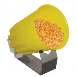 Gold Medal 17542 Plastic Bucket for Mini Cheese Corn Tumbler