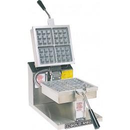 Gold Medal 5024E Electronic Control 4 Square Belgian Waffle Baker 120V