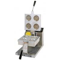 Gold Medal 5025E Electronic Control, 4-Round Belgian Waffle Baker 120V