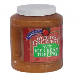 Gold Medal 5137 Worlds Greatest 66oz Topping Apple 3/CS