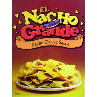 Gold Medal 5207 Nachos on Plate Poster