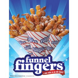 Gold Medal 5227 Funnel Fingers Poster