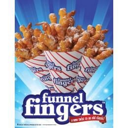 Gold Medal 5227 Funnel Fingers Poster