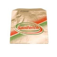 Gold Medal 5439 Disposable BBQ Foil Bags for Sandwiches 1,000/CS