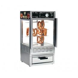 Gold Medal 5552PR Pretzel Oven & Humidified Merchandiser Combo