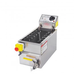 Gold Medal 8048D Small Corn Dog Fryer with Drain 220V