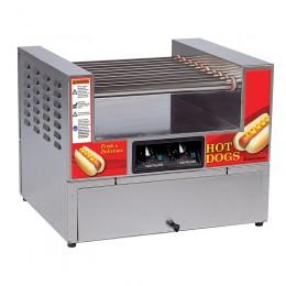 Gold Medal 8324PE Lil' Diggity Combo Non-Stick Grill, Unheated Bun Cabinet