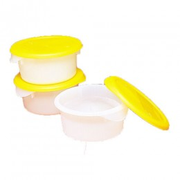 Gold Medal 1085 2 Quart Round Ice Mold w/Lid Each