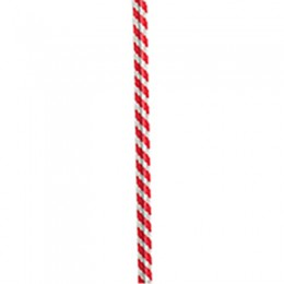 Gold Medal 4015 Red & White Striped Twist Ties 4